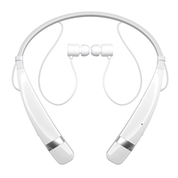 LG HBS-760 Tone Pro 760 Bluetooth Wireless In-Ear Headset - White
