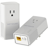 NetGear HomePlug AV2 MIMO AV1200 Powerline Gigabit Ethernet Adapter Kit