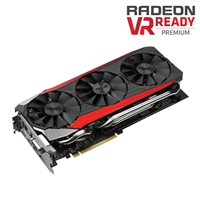 ASUS Radeon R9 390X Overclocked 8GB GDDR5 STRIX Gaming Video Card