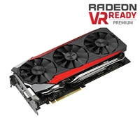 ASUS Radeon R9 390 Overclocked 8GB GDDR5 STRIX Gaming Video Card