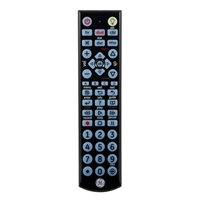GE Big Button Blue LED Backlit Remote Control