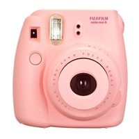 Fuji Instax Mini 8 Instant Camera Pink