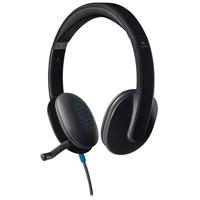 Logitech H540 (Refurbished) Wired Headset w/ Mic