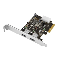 SIIG USB 3.1 2-Port PCI Express Host Adapter Type A