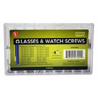 Sona Enterprises Eyeglass & Watch Screw Assortment - 900 Pieces