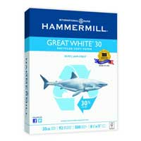 International Paper Great White 30 Recycled Copy Paper