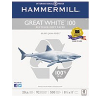 International Paper Great White 100 Recycled Copy Paper