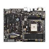 ASRock FM2A85 FM2 A85 ATX AMD Motherboard - Refurbished