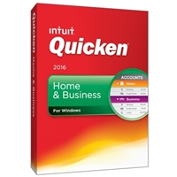 Intuit Quicken Home & Business 2016