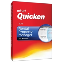 Intuit Quicken Rental Property Manager 2016