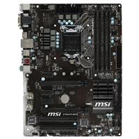 MSI Z170A PC Mate LGA 1151 ATX Intel Motherboard