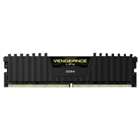Corsair Vengeance Series 16GB DDR4-2666 (PC4-21300) C16 Quad Channel Desktop Memory Kit (Two 8GB Memory Modules)