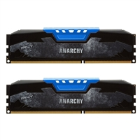 PNY 16GB Anarchy DDR3-1600 (PC3-12800) CL9 Dual Channel Desktop Memory Kit (Two 8GB Memory Modules)