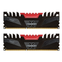 PNY 16GB Anarchy DDR3-2400 (PC3-19200) CL11 Dual Channel Desktop Memory Kit (Two 8GB Memory Modules)