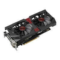 ASUS Radeon R9 380 Strix Overclocked 4GB GDDR5 Gaming Video Card