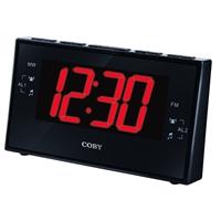Coby Electronics AM FM Dual Alarm Clock - 103
