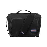 """Jansport Tasker Messenger Bag Fits up to 13"""" - Black"""