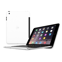 Incipio Technologies ClamCase Pro for iPad Mini - Silver/White