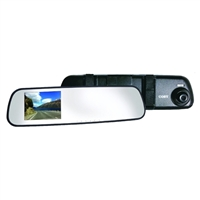 Coby Electronics Rear View Mirror 1080p Dash Cam