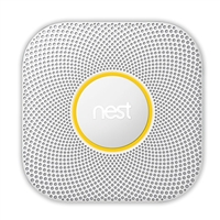 Nest Labs Protect 2nd Gen Battery Operated Smoke Carbon Monoxide Alarm
