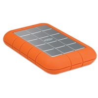 LaCie Rugged Triple 1TB SuperSpeed USB 3.0/FireWire 800/FireWire 400 Portable External Hard Drive