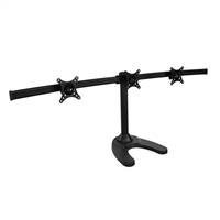 "SIIG Triple Monitor Desk Stand 13"" to 24"""