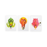 Bare Conductive Flashing Card Set - Power Animals