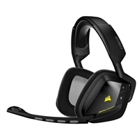 Corsair VOID Wireless 7.1 Dolby Surround Sound RGB Illuminated PC Gaming Headset - Black