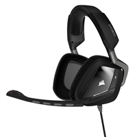 Corsair VOID 7.1 Dolby Surround Sound RGB Illuminated PC Gaming Headset - Black