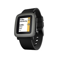 Pebble Technology Time Smart Watch - Black