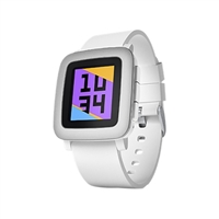 Pebble Technology Time Smart Watch - White