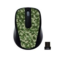 Gear Head Wireless Optical Nano Mouse - Camouflage Design