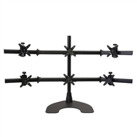 "Ergotech Triple Monitor Stand for up to 24"" monitors"