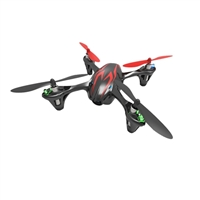 Hubsan X4 H107C-HD Quadcopter with 2MP Video Camera - Black/Red