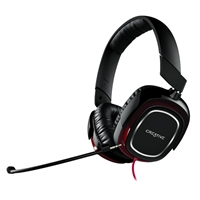Creative Labs Draco HS880 Headset - Black/Red