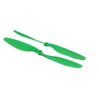 Gemfan 1045 ABS Propellers 1 x CW 1 x CCW - Green