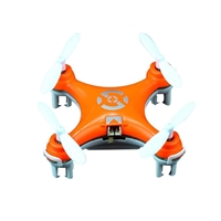 Cheerson CX-10 LED Mini RC Quadcopter - Bright Orange
