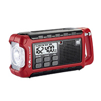 Midland Emergency Crank Radio with AM/FM Weather Alert