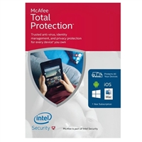 McAfee 2016 Total Protection - Unlimited