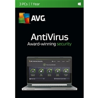 AVG Antivirus - 3 Devices, 1 Year