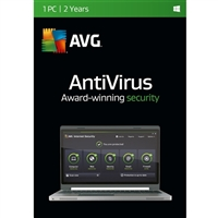 AVG Antivirus - 1 Device, 2 Years