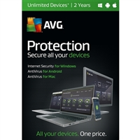 AVG Protection - 2 Years (PC/Mac)