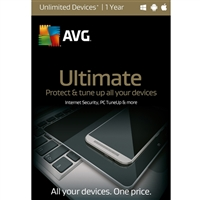 AVG Ultimate - 1 Year (PC/Mac)