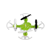 Syma X12S Nano 6-Axis Gyro 4CH RC Quadcopter with Protection Guard - Green