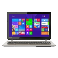 "Toshiba Satellite S55-B5258 15.6"" Laptop Computer Refurbished - Brushed Aluminum Finish in Satin Gold"