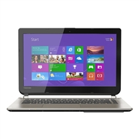 "Toshiba Satellite E45-B4100 14"" Laptop Computer Refurbished - Brushed Aluminum Finish in Satin Gold"
