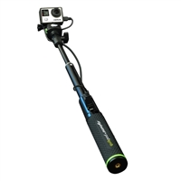 Digipower QuikPod Selfie Power Extendable Pole with 5200mAh Power Bank in Grip