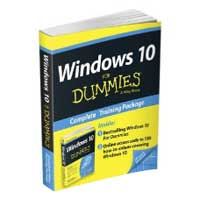 Wiley Windows 10 For Dummies Book + Online Videos Bundle