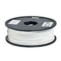 Aleph Objects 3mm White PLA 3D Printer Filament - 1kg Spool (2.2 lbs)