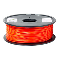 Aleph Objects 3mm Red PLA 3D Printer Filament - 1kg Spool (2.2 lbs)